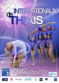 Affiche du tournoi international de Thiais 2015