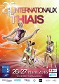 Affiche du tournoi international de Thiais 2016