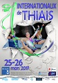 Affiche du tournoi international de Thiais 2017
