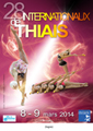Affiche du tournoi international de Thiais 2014